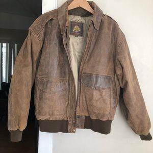 Other - aviator jacket adventure bound Wilson's leather